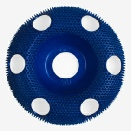 Holey Galahad - Round Coarse Blue